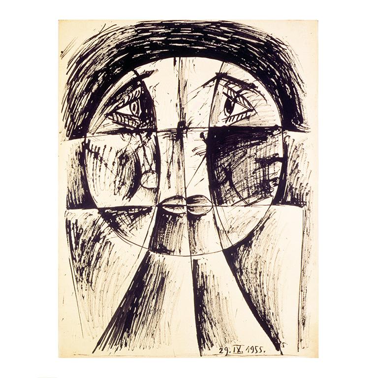 Βίκτωρ Μπράουνερ, Σύνθεση, 1955