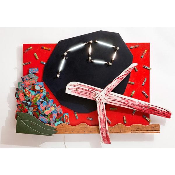 Εικονίδιο του έργου Αλέξης Ακριθάκης, Αεροπλάνο, 1982. Πατήστε για να ακούσετε την ακουστική περιγραφή του έργου και πληροφορίες για τον καλλιτέχνη.