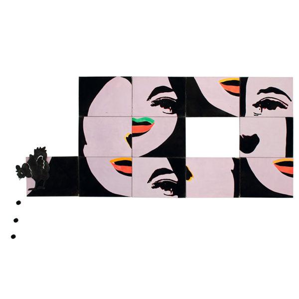 Εικονίδιο του έργου Μάρτιαλ Ραΰς, Ιστορία με το κοτόπουλο, 1968. Πατήστε για να ακούσετε την ακουστική περιγραφή του έργου και πληροφορίες για τον καλλιτέχνη.